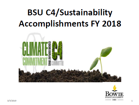 C4 Accomplishments for FY18