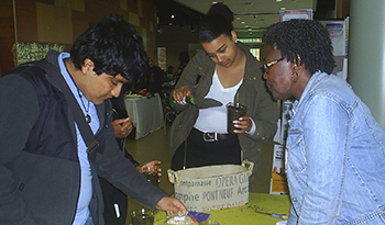participants at the Plant Your Own Seeds event