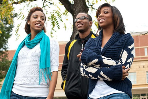 students at bowie state university